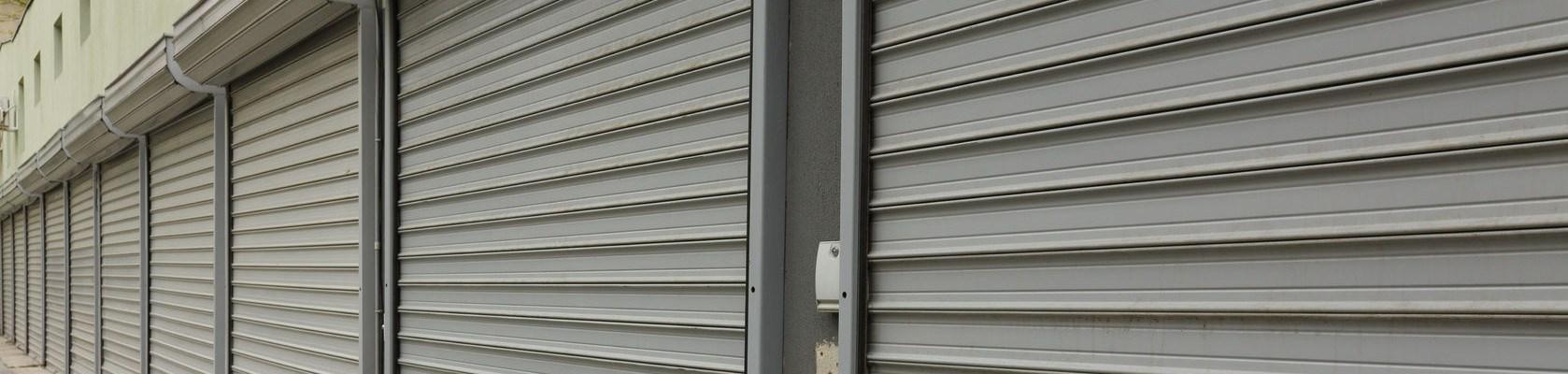 persianas metalicas horizontal - Persianas metálicas barcelona Persianas local negocio